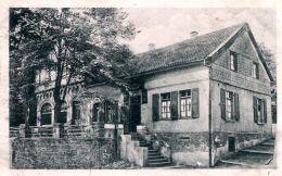 """N°49301 -cpa Essen-Bredeney -restaurant """"Zur Waldschenke"""" - Essen"""