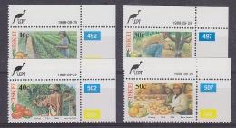 Ciskei 1988 Citrus Farming Fruit 4v  (cprner) ** Mnh (29646) - Ciskei