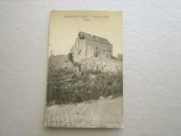 CARTE POSTALE Ancienne De ABANCOURT Nord 59 L´Eglise Après La Guerre - Autres Communes