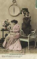 96934 - Couple   Dans Un Boudoir     Baromètre Des Epoux - Couples