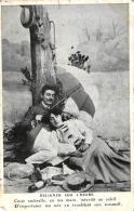 96978  -  Fantaisie     Couple     Dejeuner Sur L'herbe - Couples
