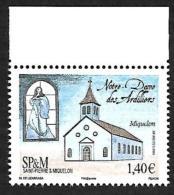 SP & M 2016 - Yv N° 1157 ** - Notre-Dame Des Ardilliers (Mi N° 1250) - St.Pierre & Miquelon