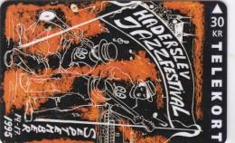 Denmark, TS 030, Haderslev Jazz Festival ´95, Only 2.000 Issued, 2 Scans. - Denmark