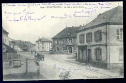Cpa Du 70 Champagney -- La Mairie Et Les Ecoles      LIOB76 - Francia