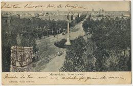 Montevideo  Plaza Libertad Editor Adroher - Uruguay