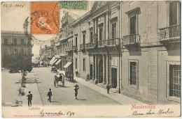 Montevideo  Cabildo  Circulada A Hartland Devonshire UK Editor Almera Hermanos - Uruguay