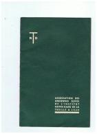 ASSOCIATION DES ANCIENNES ELEVES DE L'INSTITUT NOTRE DAME DE LA TREILLE A LILLE (NORD) 1958 - Picardie - Nord-Pas-de-Calais