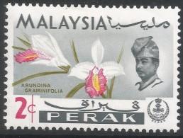 Perak (Malaysia). 1965-68 Orchids. 2c MH. SG 164 - Malaysia (1964-...)