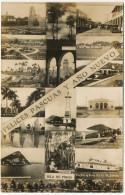 """Real Photo  Isla De Pinos Faro, Airplane, Barco """" Pinero """" Calle Marti Nueva Gerona Con Autos - Cuba"""
