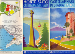 Italia. Campania. Napoli. Castellammare Di Stabia. Fiato. - Folletos Turísticos