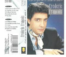 Frédéric FRANCOIS  K7 N° PM 464 -110336- De 1991 . - Audiokassetten