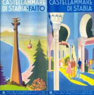 Italy. Campania. Napoli. Castellammare Di Stabia. - Folletos Turísticos