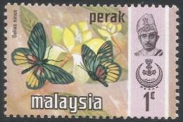 Perak (Malaysia). 1971 Butterflies. 1c MH. SG 172 - Malaysia (1964-...)