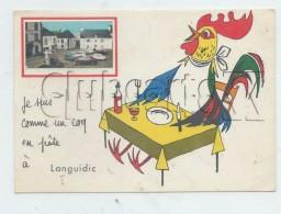 Languidic (56) : Parking Du Centre Ville   Avec Illustration Du Coq En Pâte En 1978 (animée) GF. - Sonstige Gemeinden