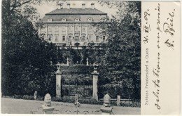 Pologne Biedrzychowice / Friedersdorf Am Queis  Nieder-Schlesien Polen Polska : Barockschloss Parkseite - Pologne