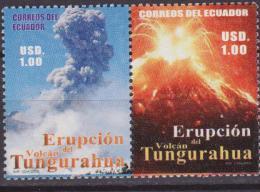 Ecuador - 2006 ERUZIONE VULCANO ERUPCION TUNGURAHUA 2 V. MNH - Vulkane