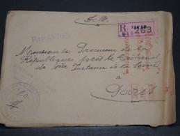 SENEGAL AOF - Env En FM De Dakar Pour Paris - Juil 1953 - A Voir - P17829 - Sénégal (1887-1944)