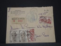 COTE D´IVOIRE AOF - Env Recomandée De Grand Bassam Pour Paris - 1935 - A Voir - P17834 - Côte-d'Ivoire (1892-1944)