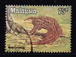 Malaysia 1979, Michel # 192y O Malayan Pangolin (Manis Javanicus) - Malaysia (1964-...)