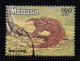 Malaysia 1979, Michel # 192y O Malayan Pangolin (Manis Javanicus) - Maleisië (1964-...)