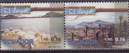 Ecuador - 2001 RISERVA ECOLOGICA FLOWERS 2 V. MNH - Gemüse
