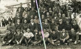 39-45 / CARTE PHOTO / STALAG VII A / MOOSBURG AN DER ISAR ( ALLEMAGNE ) / ENVOI VERS SELLE SUR LE  BIED / STALAG 7A - Krieg, Militär