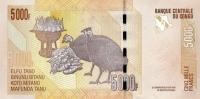 CONGO D.R. P. 102 5000 F 2005 UNC - Democratic Republic Of The Congo & Zaire