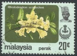 Perak (Malaysia). 1979 Flowers. 20c Used. SG 189 - Malaysia (1964-...)