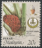 Perak (Malaysia). 1979 Agricultural Products. 20c Used. SG 203 - Malaysia (1964-...)
