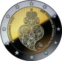 """2 Euro Commemorativo Portogallo 2016-""""Partecipazione Ai Giochi Di Rio"""" - Portugal"""