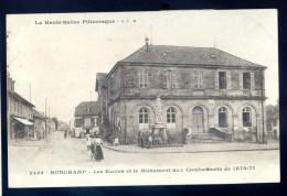 Cpa Du 70  Ronchamp -- Les écoles Et Le Monument Aux Combattants De 1870-71    LIOB76 - Francia