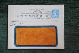 Enveloppe Publicitaire ,TOULOUSE, Manufacture De Confections, ARRECKX, 7 Rue ST GERMAIN Et Facture - Francia