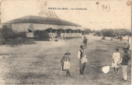 -30- Gard - 30. LE GRAU DU ROI . Le Flottant . Restaurant FRESSAC  Timbre Arraché(clair)  + Pli - Le Grau-du-Roi