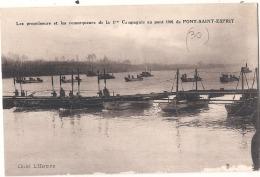 -30- Gard -  PONT SAINT ESPRIT Les Propulseurs Et Les Remorqueurs Au Pont 1901 Neuve Excellent état RARE - Pont-Saint-Esprit