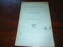 Quelques Jetons Des Pays Bas Par Victor De Munter - 1897 - - Livres & Logiciels