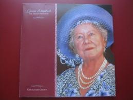 UK British 2000 Five Pound £5 Crown Coin Queen Mother Official Royal Mint Pack - 1971-… : Monnaies Décimales