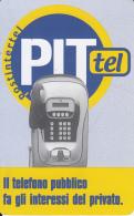 ITALY(chip) - PITtel Cardphone, Postintertel Telecard L.10000/5.16 Euro, Used - Unclassified