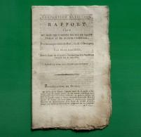D-FR Révolution 1794 Comités Réunis De Salut Public Et De Sûreté Générale, Sur La Conspiration De Batz Ou De L´étranger - Documents Historiques