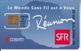 REUNION - SFR GSM, Mint - Reunion