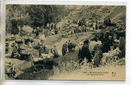 63 MURAT Le QUAIRE Un Coin De Foire Marché Aux Moutons Carioles Belle Animation Marchands Et Paysans 1910   /D09-2016 - Andere Gemeenten