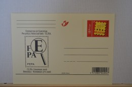 Carte Postale 2006 - BK159 - Belgique - Belgium - Federation Of European Philatelic Associations - Entiers Postaux