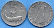 ITALIE ITALY  5 LIRE 1951 - 1946-… : Republic