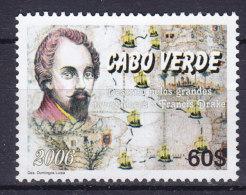 Cape Verde 2006 Mi. ???     60 E Sir Francis Drake MNG - Kap Verde