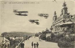 - Depts Divers - FF527 - Monaco - Monte Carlo - Les Aeroplanes - Aeroplane - Avion - Avions -  Aviation - - Monte-Carlo