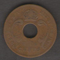 EAST AFRICA 5 CENTS 1921 - Monete