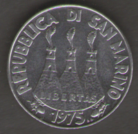 SAN MARINO 50 LIRE 1975 - San Marino