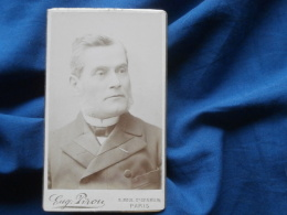 Photo CDV Eug. Pirou à Paris  - Beau Portrait Notable ( M. Panas) Vers 1890 L253 - Photos