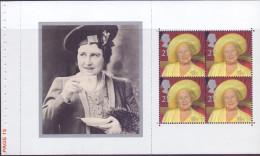 Great Britain 2000 DP 318 Ex Queen Mother PSB - 1952-.... (Elisabetta II)