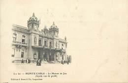 - Depts Divers - FF522 - Monaco -  Monte Carlo -  La Masion De Jeu - Maisons De Jeux - ( Façade De Profil ) - - Monte-Carlo