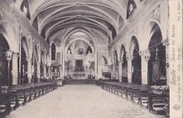 CARTOLINA DI SACILE - PORDENONE INTERNO DEL DUOMO 1914 - Pordenone